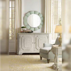 Cermin Bulat Meja Ruang Tamu Elegant