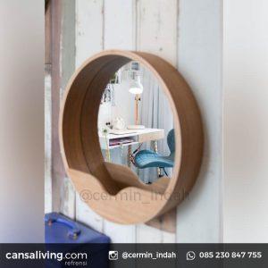 Cermin Bulat OOTD Kamar Tidur Terbaru