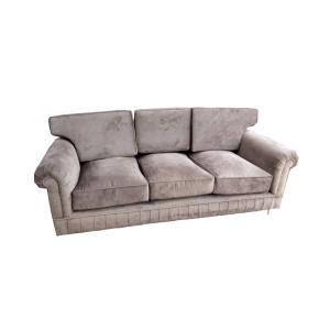 Sofa Bangku Mewah Coklat