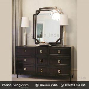 gambar harga cermin Aluminium kamar tidur minimalis Mewah