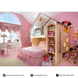 Tempat-tidur-anak-tingkat-karakter-Hobbit-lucu jual