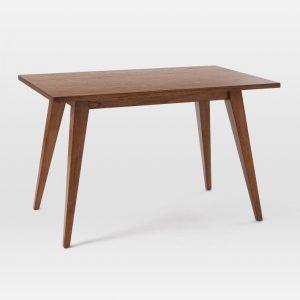 Meja Kerja Versa Desk Kayu Jati Minimalis Modern