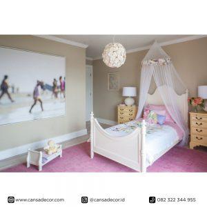 tempat-tidur-anak-perempuan-minimalis-Kayu-jati harga