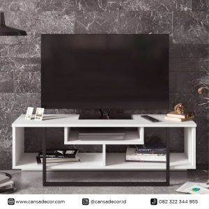 Bufet TV 55 inch Taniya Minimalis Variasi Besi Harga