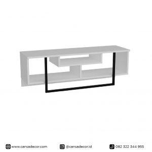 Bufet TV 55 inch Taniya Minimalis Variasi Besi Jual