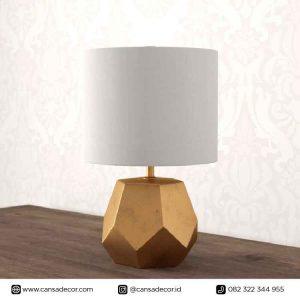 Lampu Meja Kontemporer Hexa Chic Modern Jual