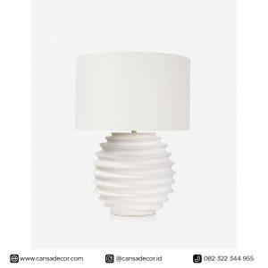 Lampu Meja kayu minimalis
