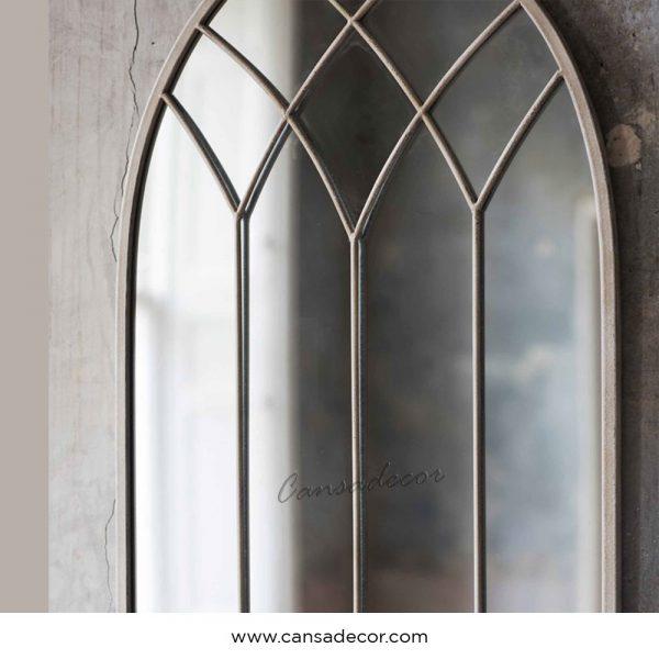 Cermin-Dinding-Jendela-Krem-Rubia-Vintage-Minimalis