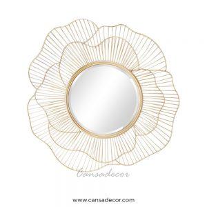 Cermin-Dinding-Mewah-Gold-Rose-Cantik-Kontemporer-surabaya