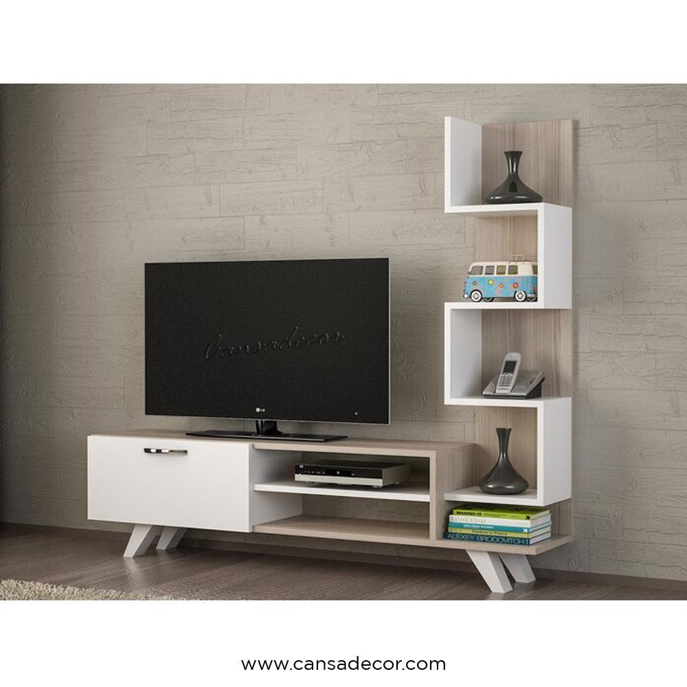 Rak Tv Minimalis Modern Rheba Ruang Tamu Cansadecor Toko Online Furniture