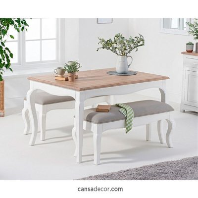 meja makan minimalis di informa