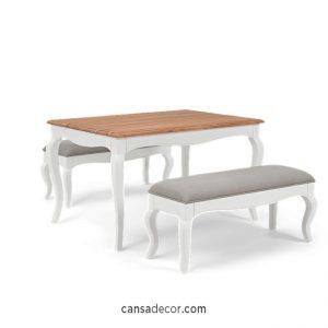 meja makan minimalis marmer