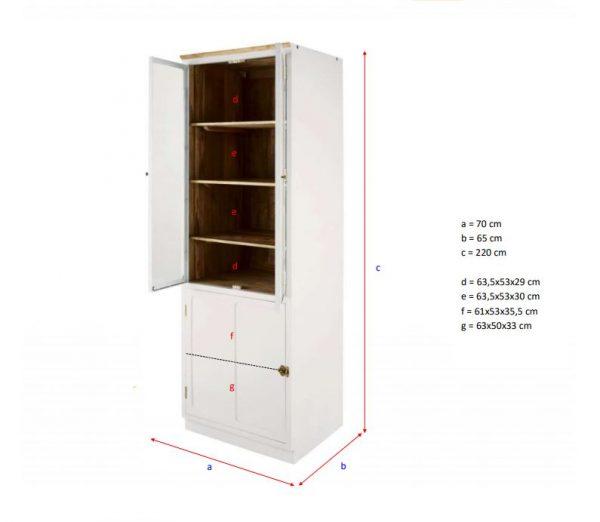 jual-lemari-makan-kaca-2-pintu-minimalis-kayu-jati
