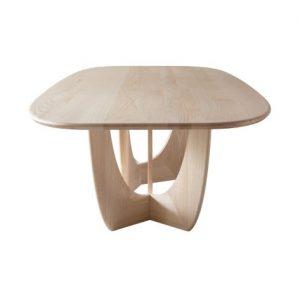 meja makan minimalis dari kayu 3s
